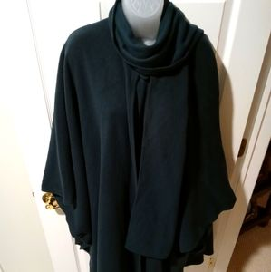 Ladies Full Length Wool & Cashmere Cape